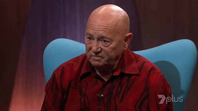 Angry Anderson breaks down talking about the death of his son (Channel 7)