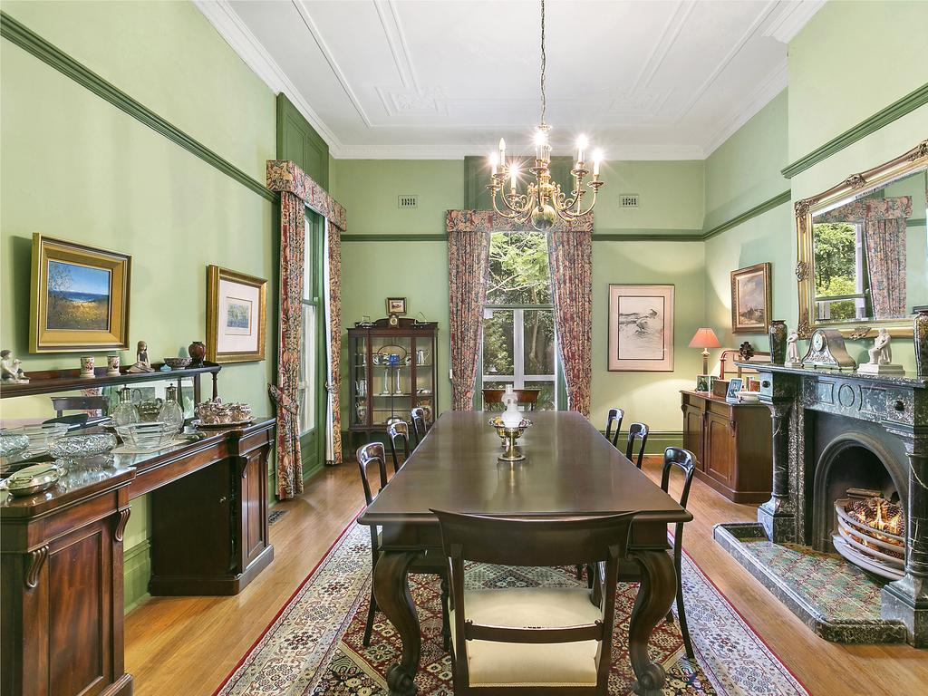 The grand home is one of Wahroonga's most known properties.