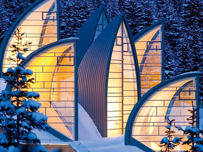 TSCHUGGEN GRAND HOTEL, SWITZERLAND: During the winter there's ample ski slopes, toboggan descents and cross-country tracks and 40-kilometres of hiking routes, all of which is accessed via a private funicular, allowing ski-to-door access. In summer guests can take advantage of the hotel golf course (the highest in Europe) and inside the Tschuggen boasts the level of luxury you'd expect from a Leading Hotels of the World member, including gourmet restaurants and a plush Bergoase spa. See tschuggen.ch