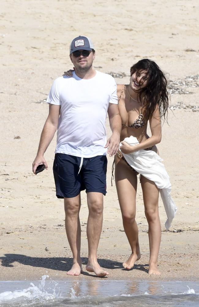 The pair are on a luxurious holiday on a superyacht around Corsica.
