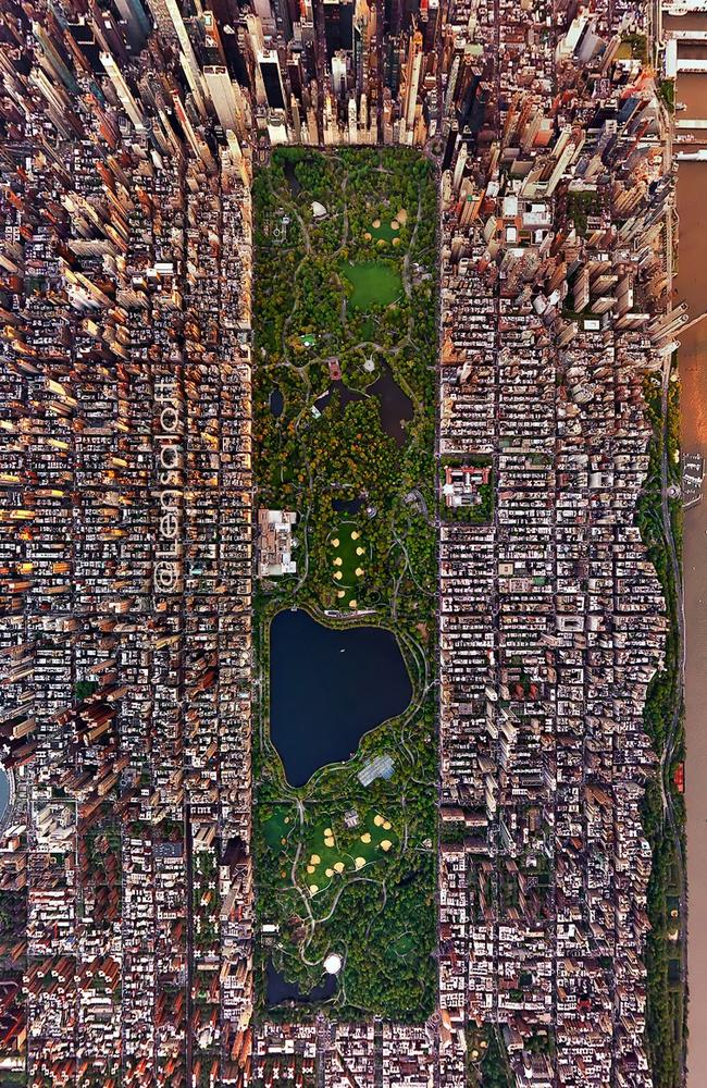 Central Park is an oasis in the heart of busy Manhattan. Picture: Andrew Griffiths/Lensaloft Photography
