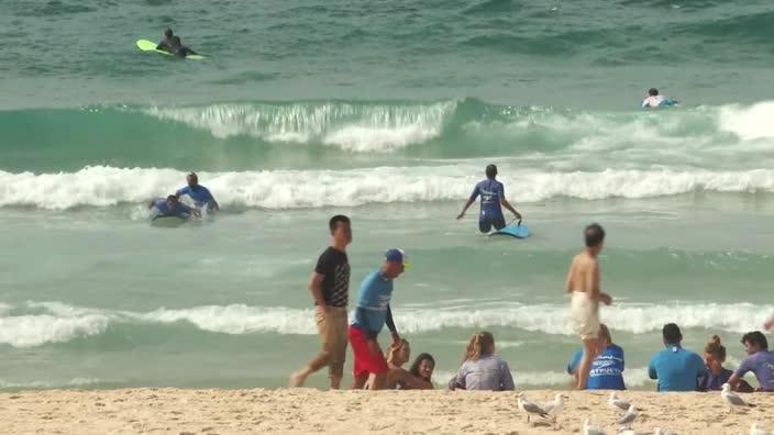 Bondi Beach trials new shark detection devices
