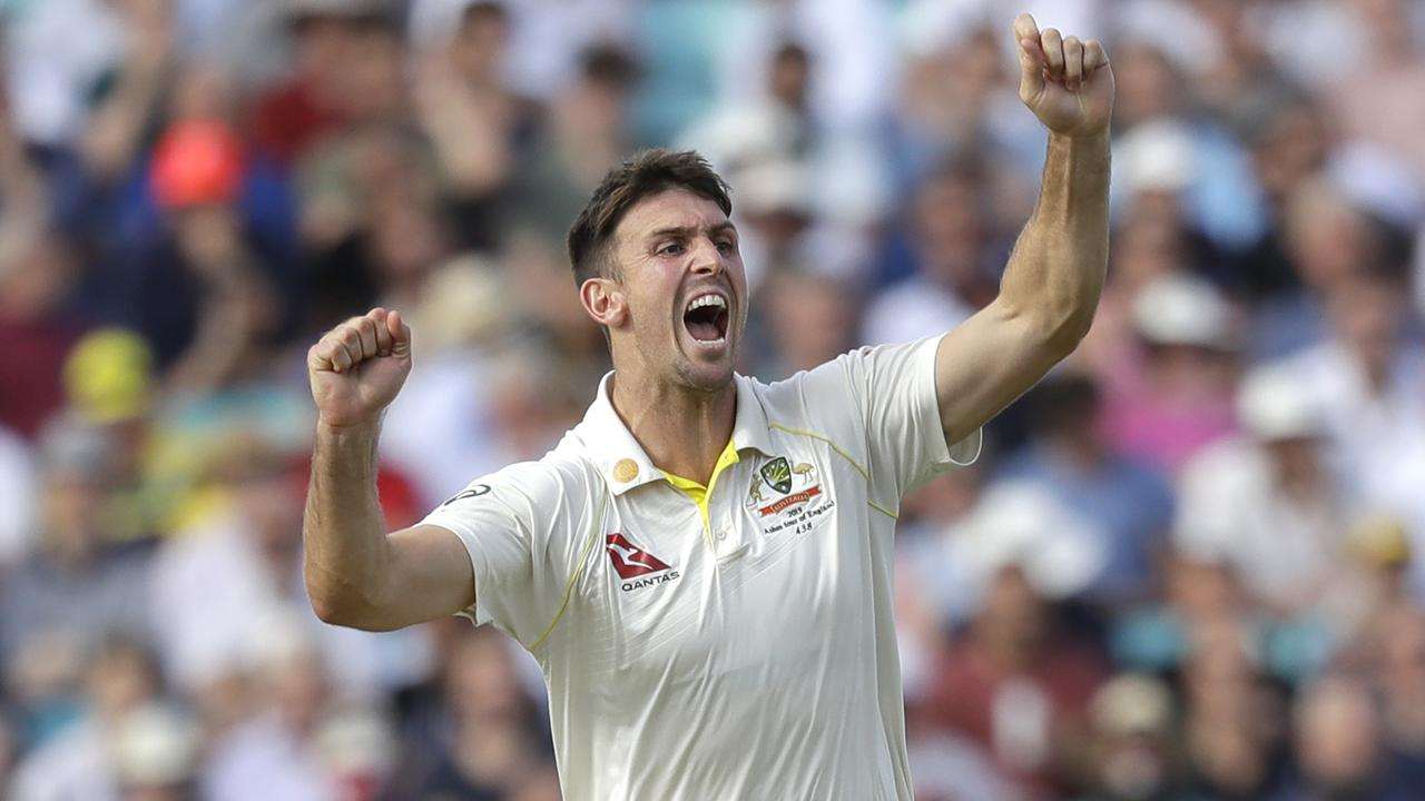 That's why he's there! Marsh — yes, Mitchell Marsh — takes FOUR in Aussie recovery at The Oval