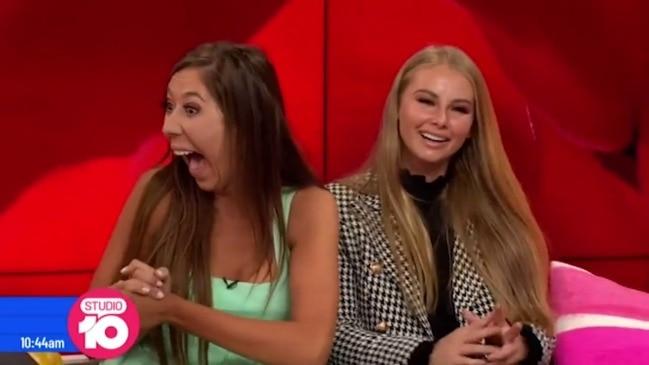 Bachelor contestant stuns Studio 10 hosts with F-Bomb (Studio 10)