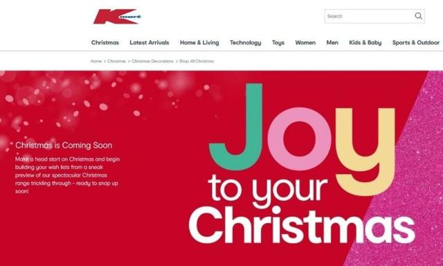Kmart releases preview of their Christmas range