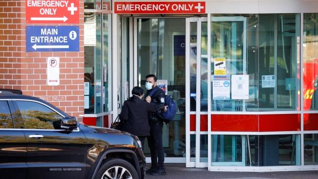 Liverpool Hospital. Picture: Jonathan Ng /  News Corp Australia