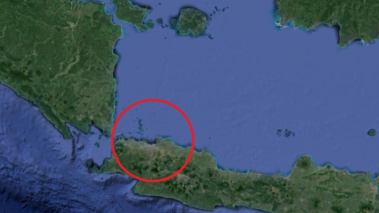Jakarta is located on the west of the island of Java. Picture: Google Maps