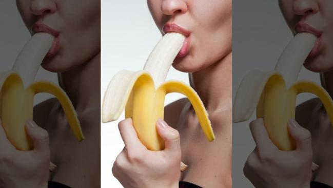 Just eating a banana, or something more?
