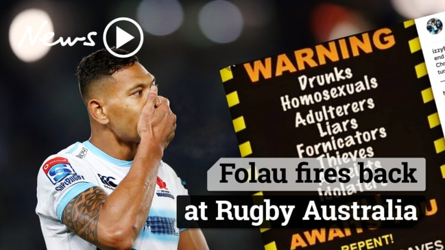 Folau requests Code of Conduct hearing