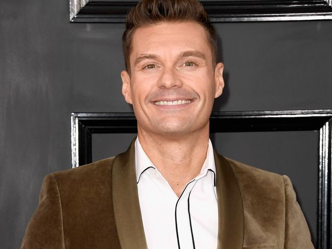 Ryan Seacrest attends The 59th GRAMMY Awards at STAPLES Center in LA. Picture: Frazer Harrison/Getty Images
