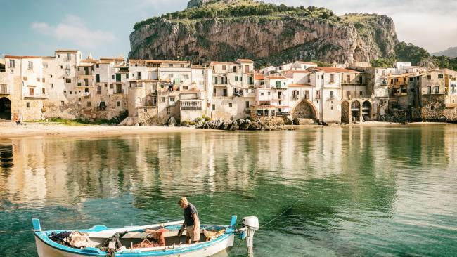 After a long (long) lunch, make for the beach and admire the town as you float in the sea. It'll be tempting to do just this in Sicily, but there's plenty more to do here.