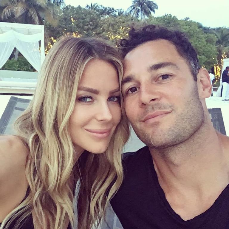 Jennifer Hawkins and partner Jake Wall have developed a reputation as savvy property flippers.