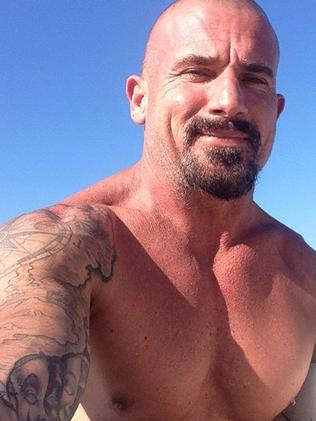 Dominic Purcell nowadays. Picture: Instagram