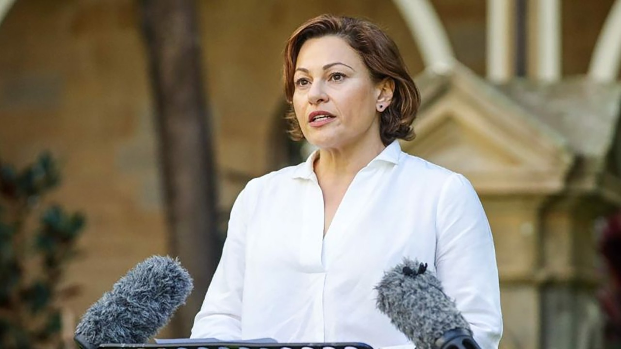 Jackie Trad resigns from Queensland govt frontbench