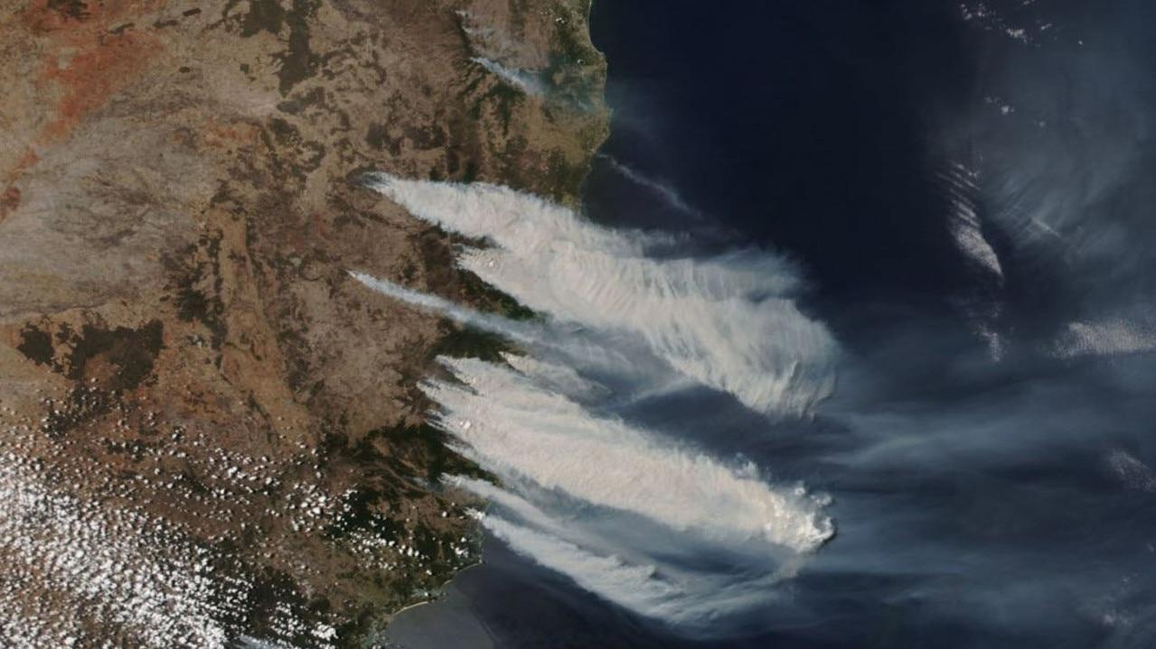The fires on November 8