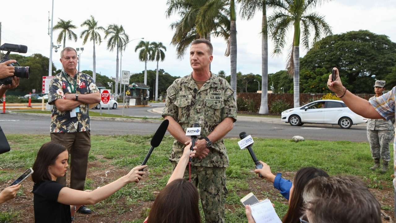 Two dead in Hawaii naval base shooting