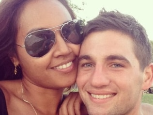 Jessica Mauboy and partner of 10 years Themeli Magrilis are engaged. Source: Instagram