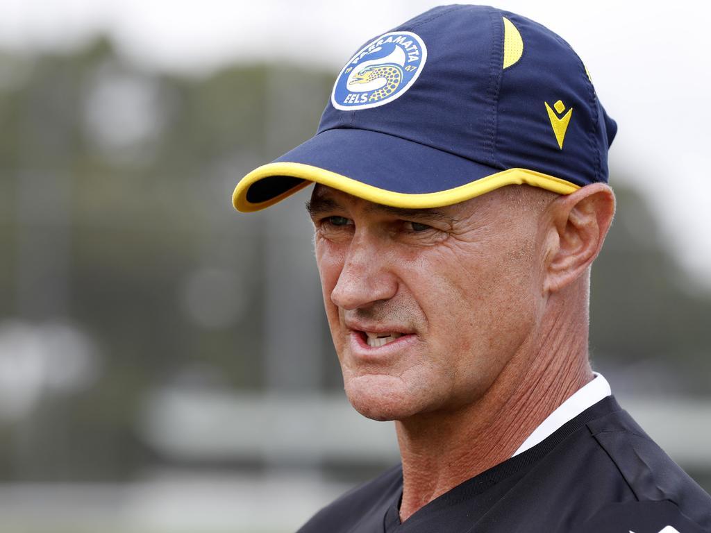Parramatta Eels Parramatta coach Brad Arthur backs Mitch Moses to excel on Origin stage. Picture: Jonathan Ng