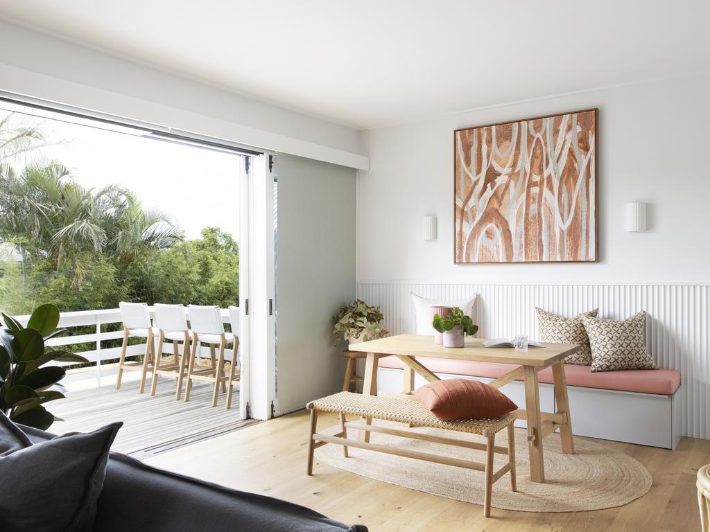 Indoor and outdoor space.