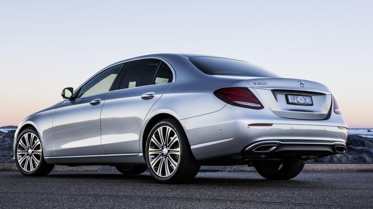 Mercedes-Benz executive E-Class starts at around the same price as a heavily specced Mac Pro.
