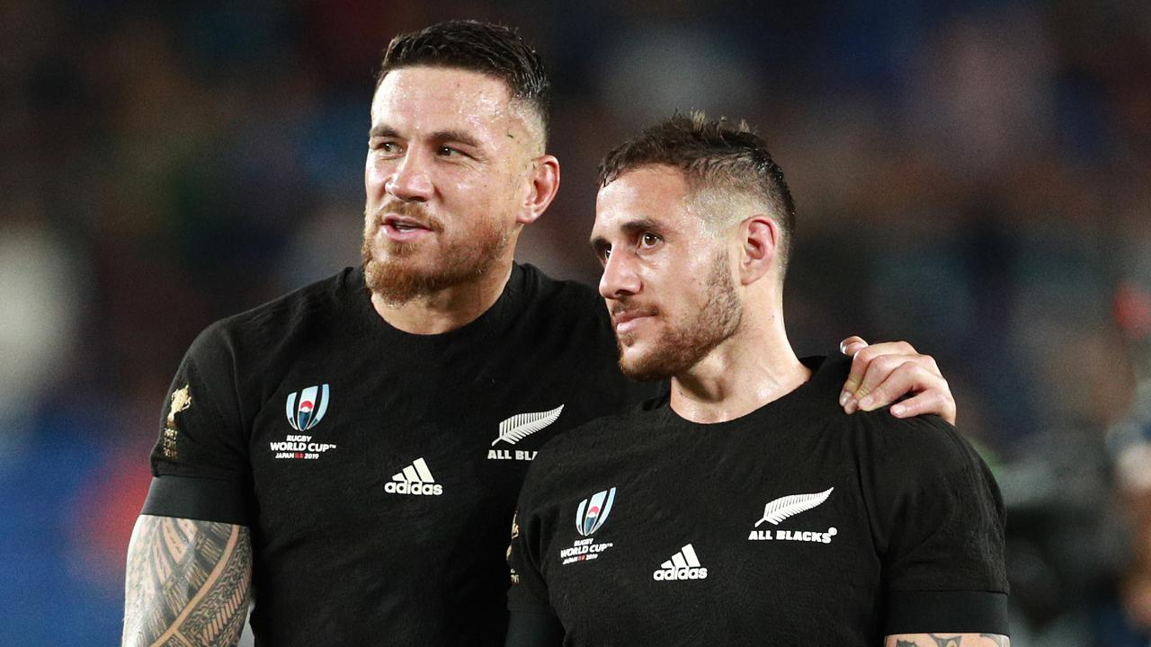 TJ Perenara says he was excited to play alongside Sam Walker and Joseph Suaalii at the Roosters. Photo: Getty Images