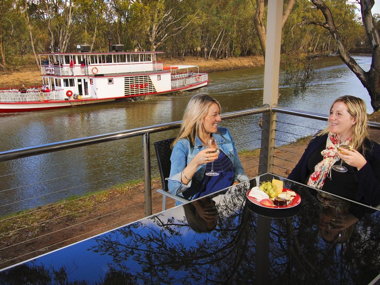 ESCAPE: MURRAY RIVER .. Susie O'Brien story .. Big4 Riverside. Picture: Supplied