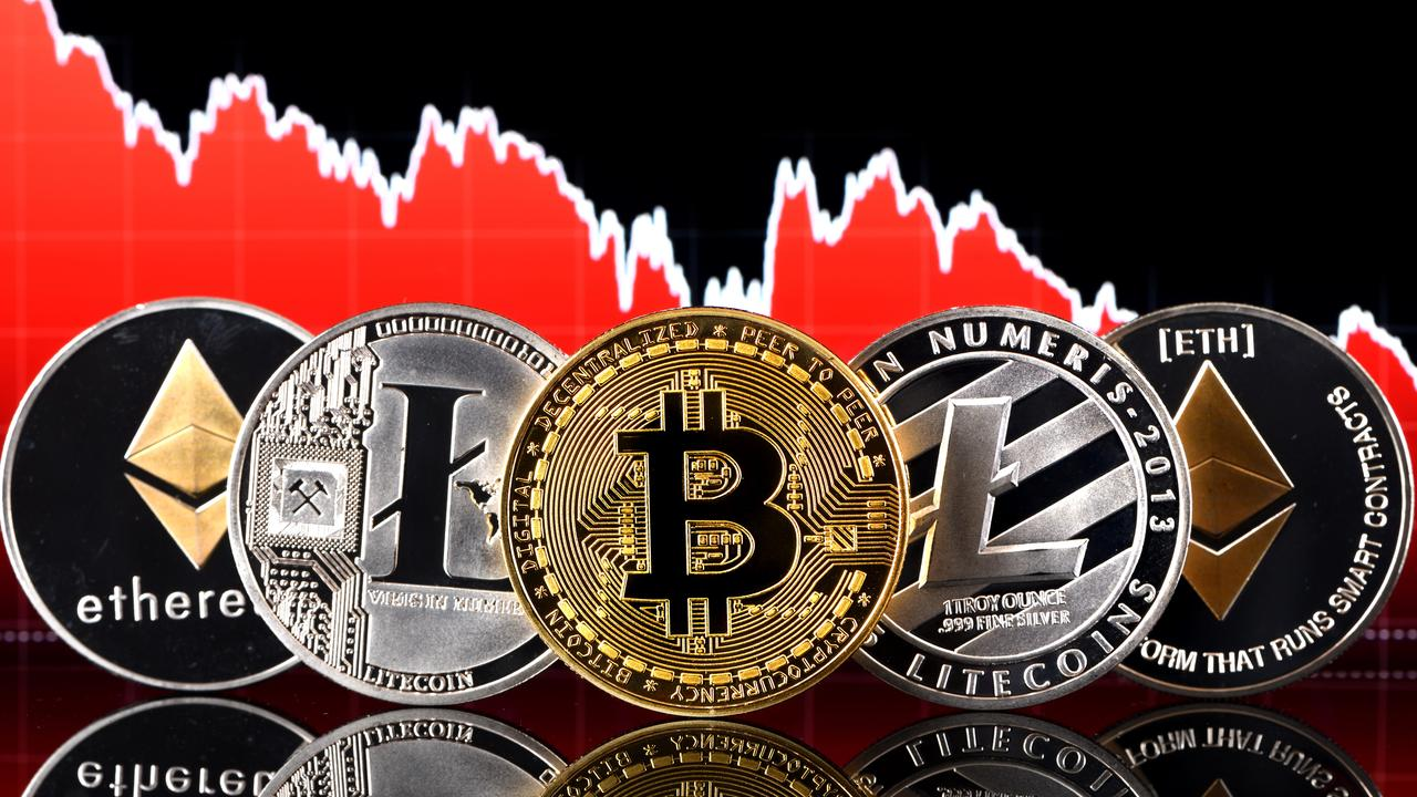 Aussies own a range of different cryptocurrencies. Picture: The Daily Telegraph