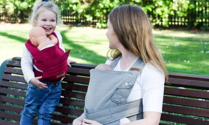 Simplicity and comfort: the perfect baby carrier