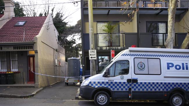 Police have spent days rifling through properties in Lakemba, Wiley Park, Punchbowl and Surry Hills in the search for evidence. Picture: John Grainger