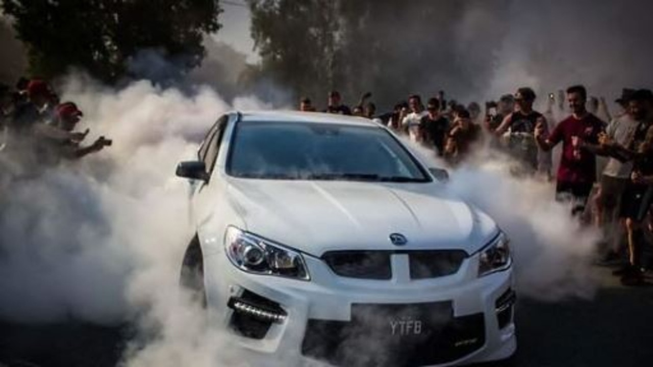 Mr Williams is alleged to have dangerously operated a motor vehicle at a car meet in Helensvale (pictured) in 2019.