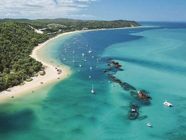 16. Tangalooma, Moreton Island, Brisbane. Picture: Tourism and Events Queensland