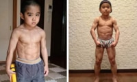 10-year-old 'mini Bruce Lee' 's terrifying torso