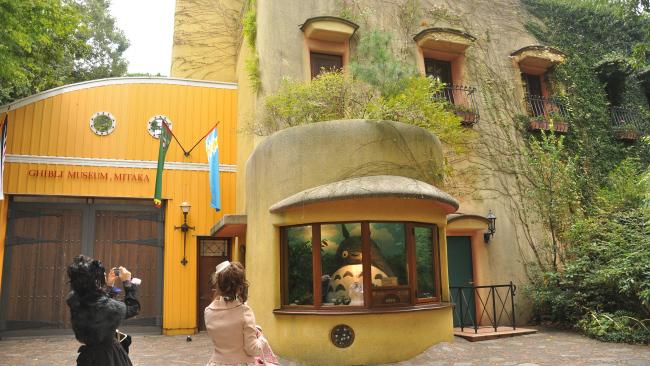 The place is populated by well-loved Ghibli characters, with Totoro (from My Neighbour Totoro - pictured) showing the way to the entrance, and rooms that will make you feel like you've stepped into a Ghibli film of your own. Picture: Lucius Kwok/Flickr ghibli-museum.jp
