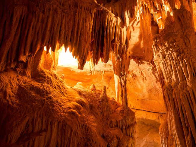 TARALGA You've seen beaches, you've seen national parks, but have you clambered through a maze of underground tunnels, passages, streams and caverns? Wombeyan Caves, near Taralga, three and a half hours southwest of Sydney, is one of the most unique experiences the state has to offer. Self-guided walks means you can take it at your own pace, and camping is available, making it a cheaper holiday option.