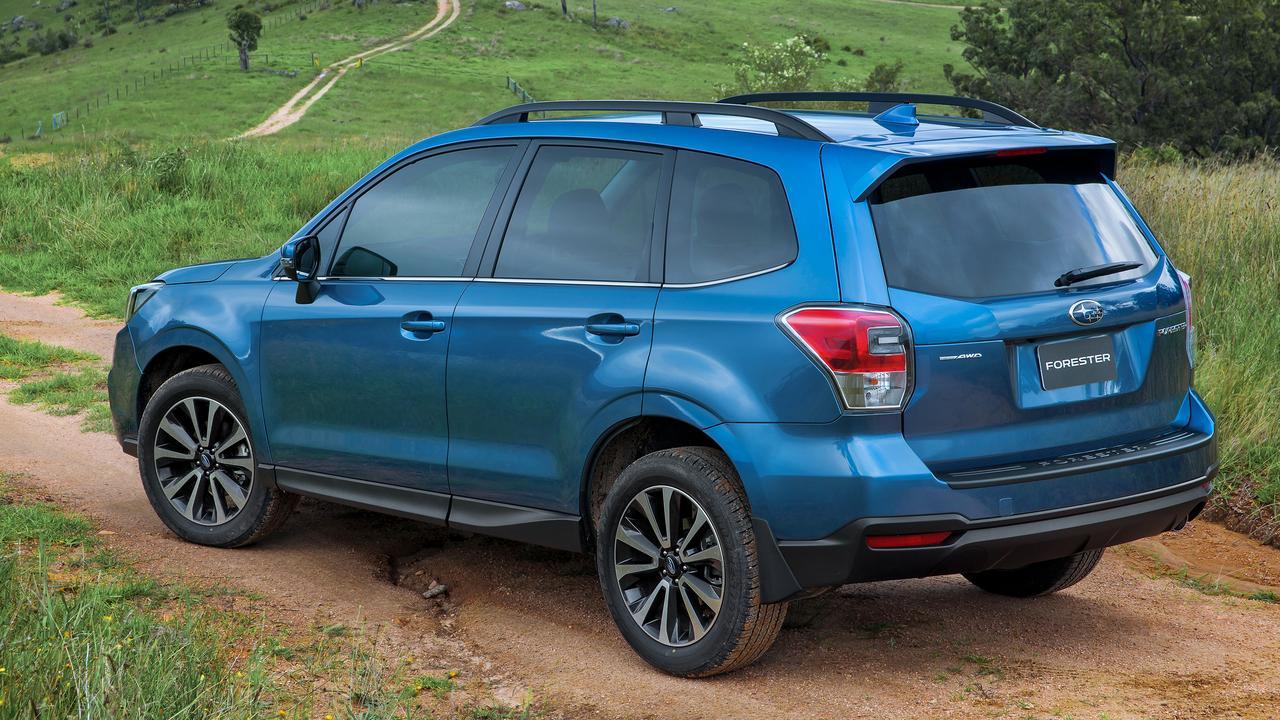 Subaru Forester SUV.