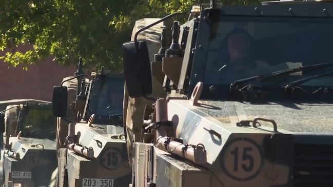 RAW: Army Reservists deploy to Kangaroo Island