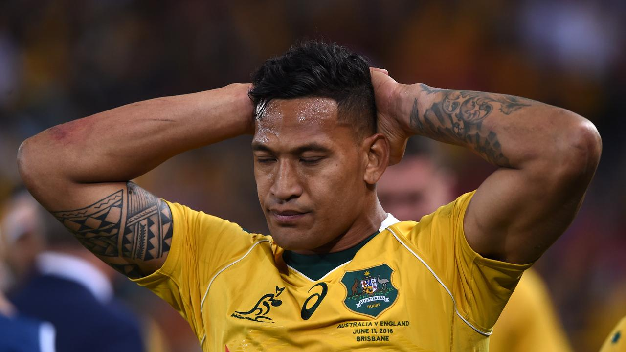 Rugby Australia's director of rugby Scott Johnson says Israel Folau's clouded future has taken away from positive stories.