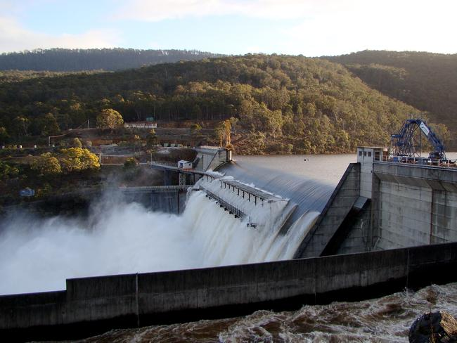 Could South Australia build a pumped hydro system? Picture: Hydro Tasmania