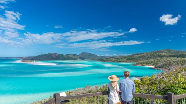 Nothing beats the postcard-perfect views of the Whitsundays.