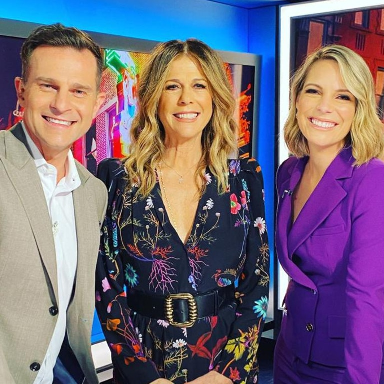 Today Extra hosts David Campbell and Belinda Russell.