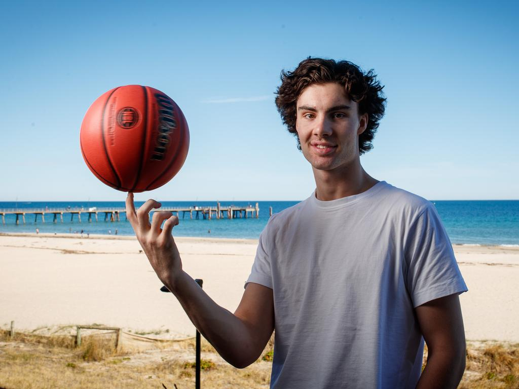 NBL Rookie of the Year Josh Giddey could play for the Boomers at the Tokyo Olympics. Picture: Matt Turner