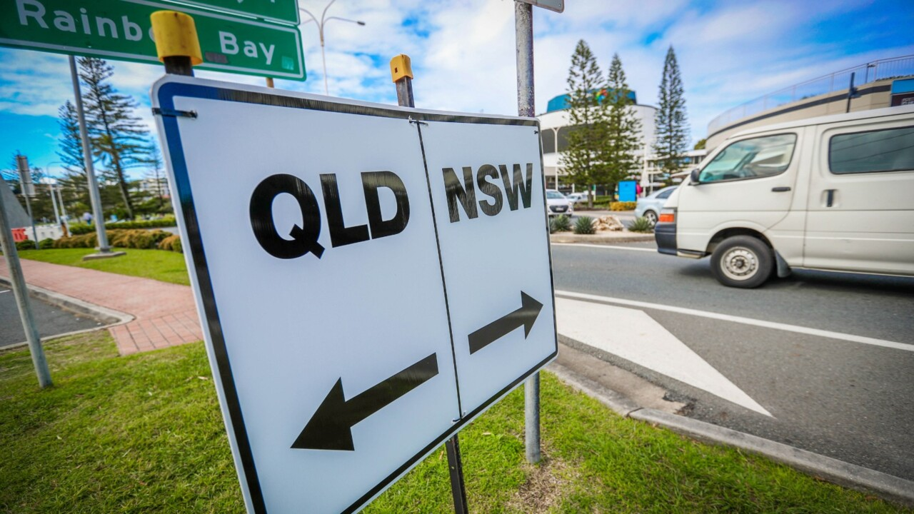 Shutting of Queensland's border 'is coming like a steam train'