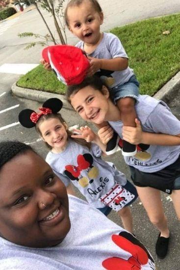 Adoption: Single African American mum judged for raising three white foster kids