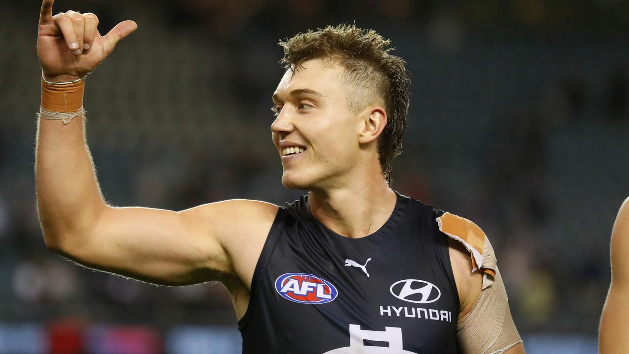 Patrick Cripps is back in form (Photo by Michael Willson/AFL Photos via Getty Images)