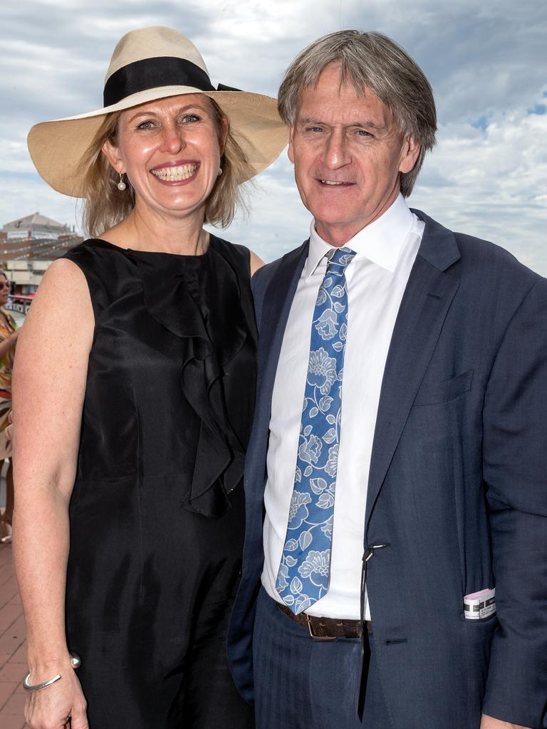 Celebs at the C.S Orr Stakes Family Day at Caulfield.