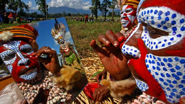 12/20 Hagen Show, Mount Hagen, Papua New Guinea This annual 'sing-sing' (local tribal gathering) in Papua New Guinea's Highlands region is a cultural kaleidoscope of villages and communities from all over the country. Whether it is the beat of the Kundu drums, the bird of paradise headdresses or loud chanting, the Mount Hagen Festival is a heartstopper and a once-in-a-lifetime adventure experience. Organise local guide price