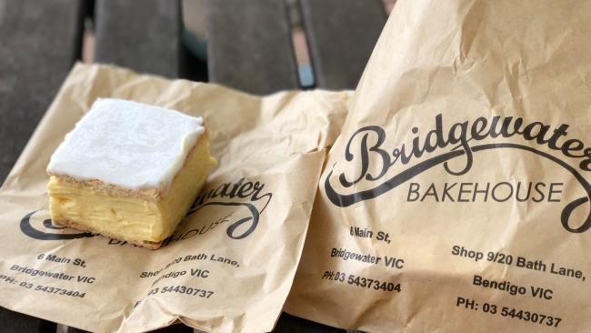 Bridgewater Bakehouse Vanilla Slice.