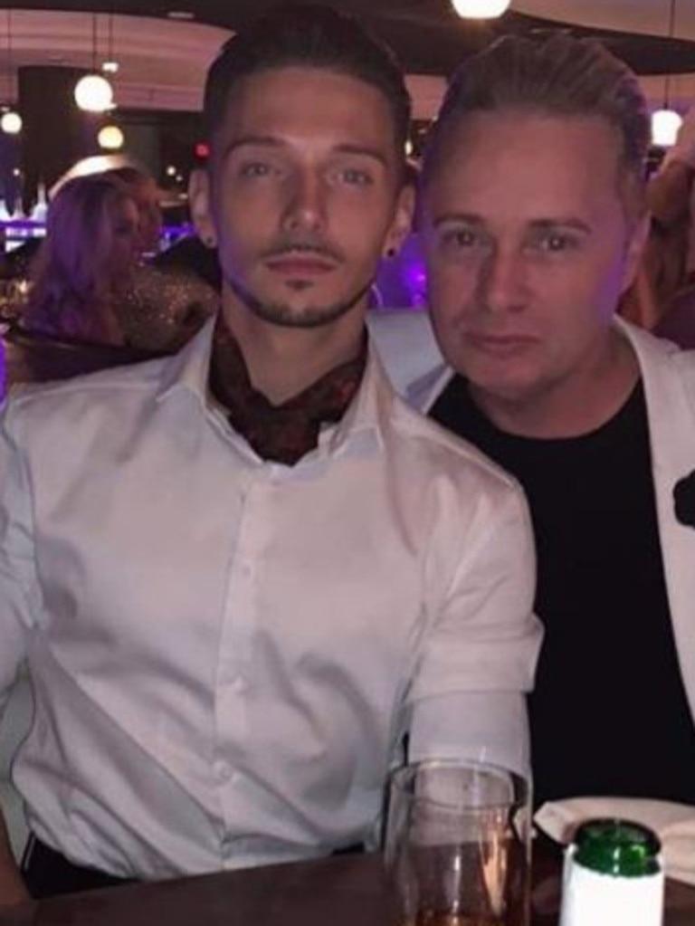 Scott Hutchison and Barrie Drewitt-Barlow. Picture: Instagram