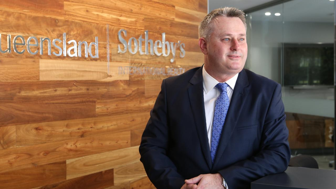 Queensland Sotheby's International Realty chief executive Paul Arthur. Picture: Glenn Hampson.