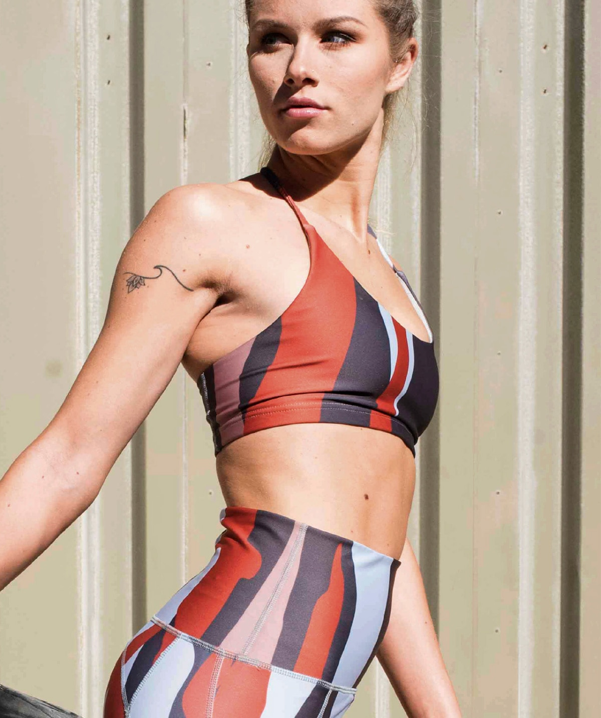 Meet the fashion graduate who successfully launched her own activewear brand